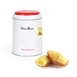 Boite de 10 Madeleines coeur citron