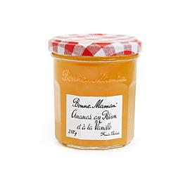 Confiture d'Ananas au Rhum et à la Vanille