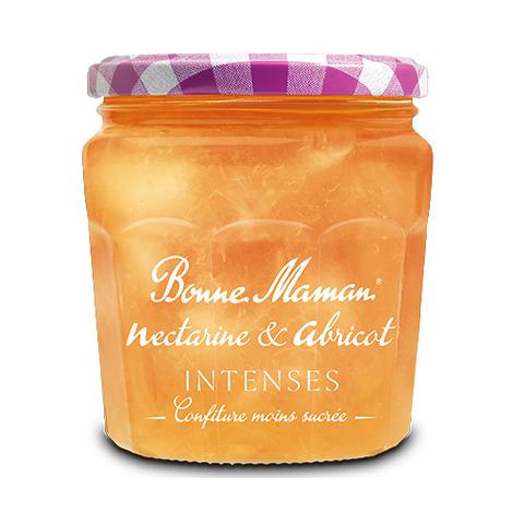 Nectarine & Abricot Intenses - Bonne Maman